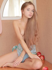 Natural teen beauty